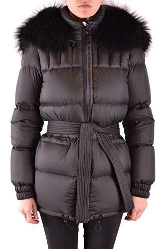 MR&MRS ITALY Luxury Fashion Damen MCBI37577 Schwarz Steppjacke | Jahreszeit Outlet
