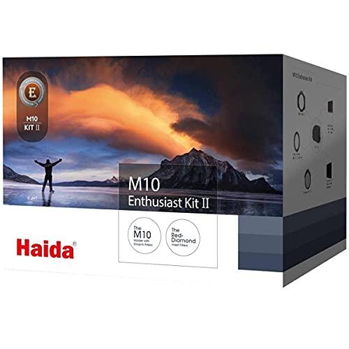 Haida Serie M10 Starter Kit Enthusiast II inkl. Adapterringe 67 mm, 72 mm, 77 mm, 82 mm & Tasche