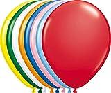 Bunte einfarbige Luftballons - 100er Pack -