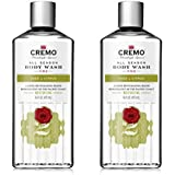 Cremo Rich-Lathering Sage & Citrus Body Wash, A Revitalizing Combination of Bright Mandarin, Dry Herbs and White Cedar, 16 Oz (2-Pack)