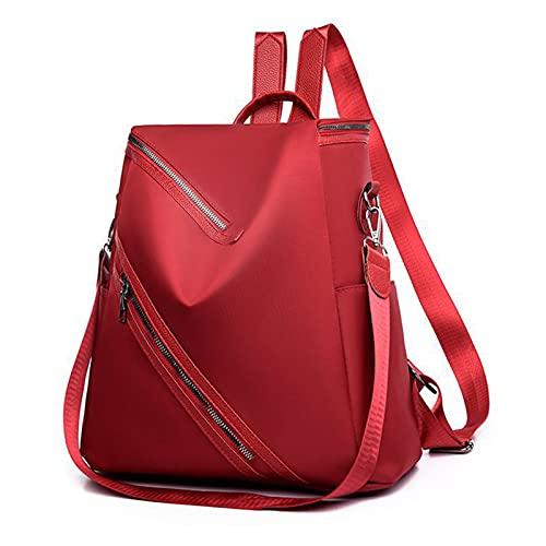 Oichy Mochila para mujer, ligera, multifunción, bolsa de hombro, impermeable, con múltiples bolsillos