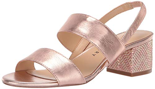 Katy Perry Women's The Annalie Heeled Sandal, rose gold, 8.5 M M US