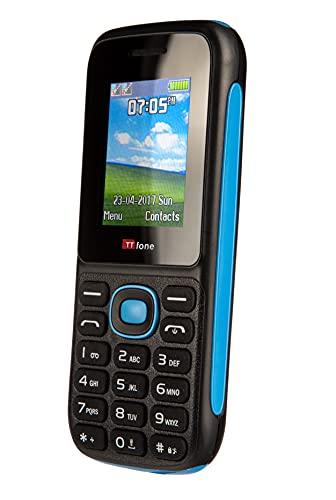 TTsims TT120 Dual Sim Cheap Mobile Phone Pay As You Go Vodafone in Blu