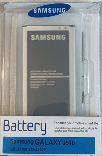 SAMSUNG Batteria Originale J5 2016, Li-Ion 3.85V 3100mAh