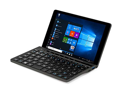 GPD Pocket 2 (Amber Black) - Ultra Mobile PC Magnesiumgehäuse mit Windows 10, Retina Full HD Display, Dual Core Intel Celeron 3965Y, 8 GB DDR3, 128 GB SSD, Wi-Fi Dual Band AC, Bluetooth