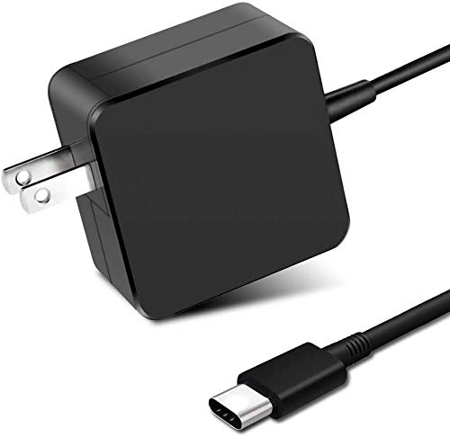 UpBright USB-C 45W AC Adapter Compatible with Lenovo Yoga 720 13', Yoga 910, Miix 720 and IdeaPad 720s Laptops - GX20M33579