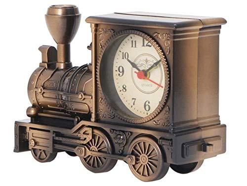 Dampflok Zugform Vintage Retro Wecker Altmodischer klassischer Wecker