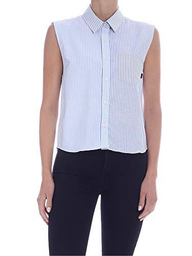 WOOLRICH Luxury Fashion Damen WWSI0056FRUT21101057 Hellblau Baumwolle Hemd | Frühling Sommer 20