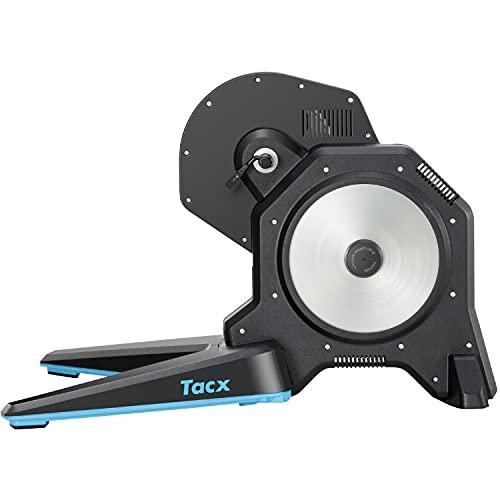 TACX FLUX 2 Smart Trainer – 2000W Widerstand, 16 % max. Steigung, ANT+/Bluetooth Technologie für Zwift, TACX etc., Daten zu Geschwindigkeit/Trittfrequenz/Leistung, realistisch, leise und präzise