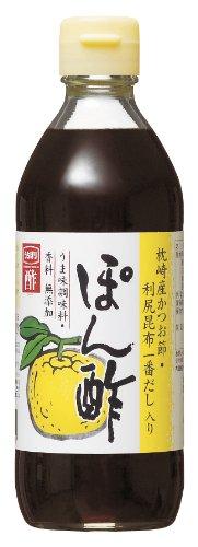 Uchibori Dashi-Iri Ponzu Soja 360ml Flasche (Zitronen-Soja-Sauce)
