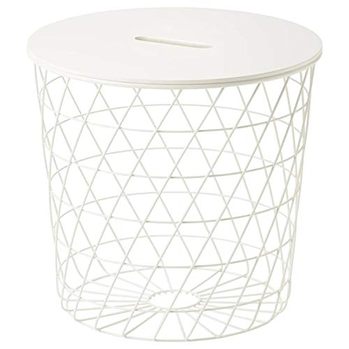 IK IKEA KVISTBRO - Mesa de Centro (44 cm), Color Blanco