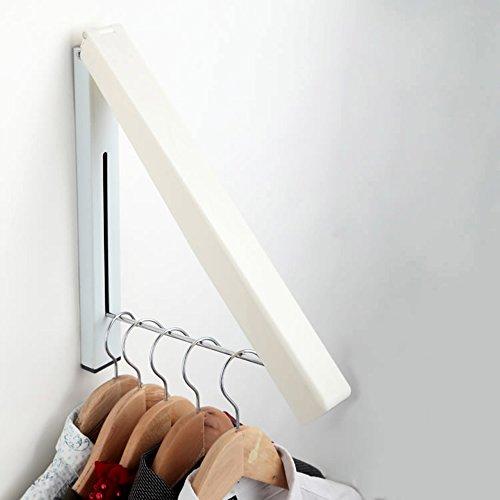 Artis Inomhus/utomhus rostfritt stål vikbar vägghängare bärbar klädförvaring arrangör