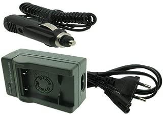 BATTERIA FOTOCAMERA-Caricabatterie supporto di ricarica per Olympus fe-370