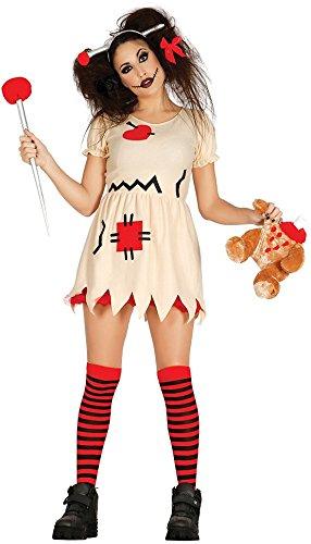 Costume da bambola Voodoo, vestito sexy da donna per mascherarsi, ideale per Halloween