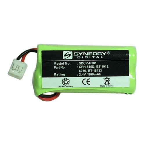 Compatible Cordless Phone Battery, Works with AT&T-Lucent SL82318 Cordless Phone, (Ni-MH, 2.4V, 750 mAh) Ultra Hi-Capacity, Compatible with G.E. 5-2762, 2770 Battery
