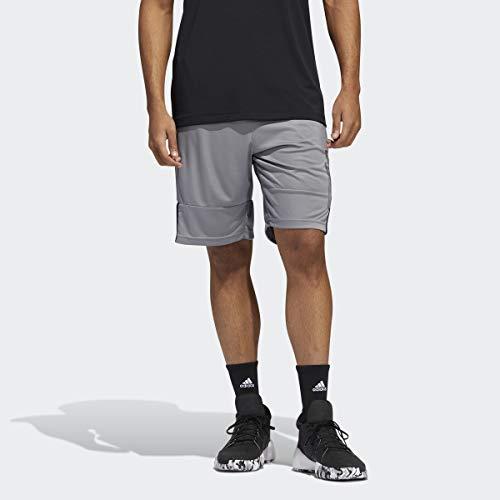 adidas 3g Speed X Short Short para Hombre, Hombre, Pantalones Cortos, DX6650, Gris, M