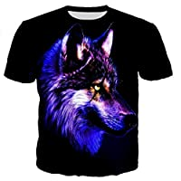 Wolf t shirt men/women 3D printed t-shirts casual Harajuku style tshirt streetwear tops dropshipping