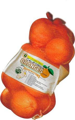 Large Bag of Organic California Valencia Oranges