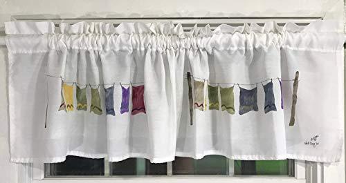 Wash Day Laundry Room Valance
