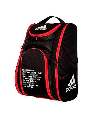 Adidas Padel Negro Paletero MultiGame Rojo 2020, Adultos Unisex, Talla Única
