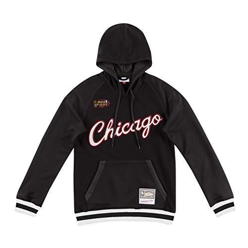 Mitchell & Ness Chicago Bulls Gametime Pullover NBA Hoodie Schwarz, M