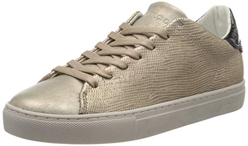 Crime London Damen Beat Sneaker, Rose Gold, 40 EU
