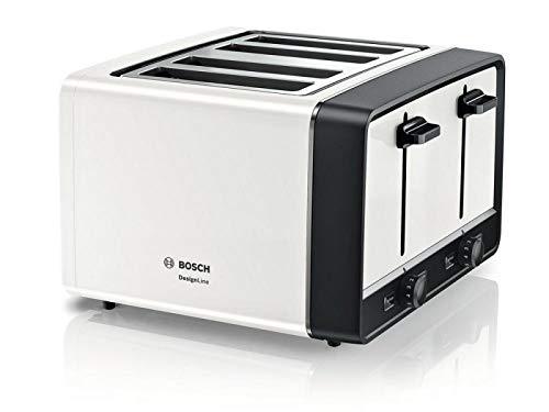 BOSCH TAT5P441GB 4 Slice Toaster in White