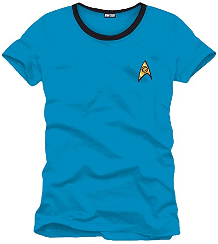 Star Trek Htkts 1201 Bleu Camiseta, M...