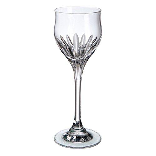 Cristal de Bohemia Simone Copas de Licor, Cristal, 5x5x15 cm, 6 Unidades