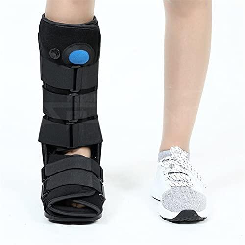 HZYAN 1 PCS Top Top Walker Fractura Tobillo/Estabilizador de pie Fractura Fractura Rehabilitación Zapatos para Caminar Negro 422 (Size : Medium)