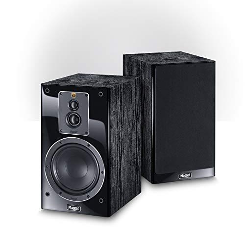 Magnat Signature 503, schwarz, 1 Paar - Audiophile 3-Wege Regal-Lautsprecher mit edler Hochglanz-Front für hervorragenden Stereo- und Heimkino-Sound