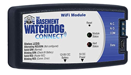 THE BASEMENT WATCHDOG Model BW-WIFI Wifi CONNECT Module for Sump Pumps