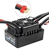 Hobbywing EZRUN WP SC8 120A Waterproof Speed Controller Brushless ESC for RC Car Crawler Truck XT60 Plug T Plug (with T Plug)