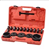 WIN.MAX 23 Pcs FWD Front Wheel Drive Bearing Adapters Puller Press Replacement Installer Removal Tool Kit