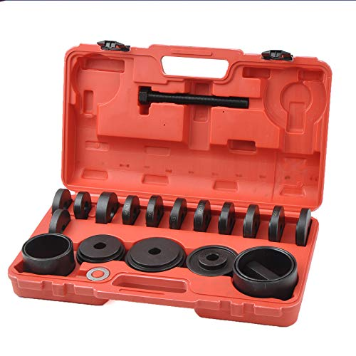 WINMAX TOOLS AUTOMOTIVE 23 Pcs FWD Front Wheel Drive Bearing Adapters Puller Press Replacement Installer Removal Tool Kit