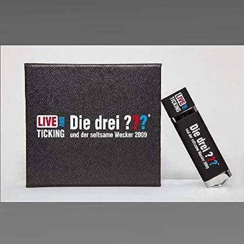 Die Drei Fragezeichen 3 ??? Hörspiel Sonderfolge Live on Tour 2009 und der seltsame Wecker USB-Stick mit Box + Visitenkarte [MP3]