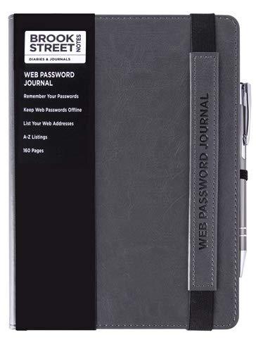 Tolle Reihe. Web-Passwort- und Internetadressbuch, A5 A5 hellgrau