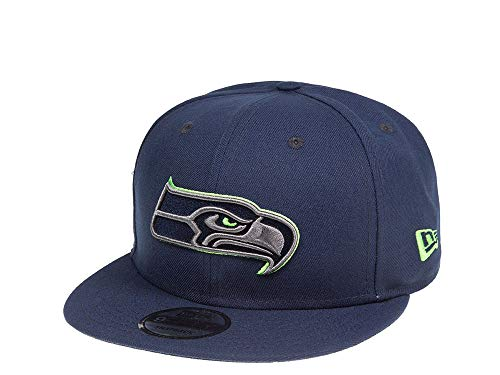 New Era Seattle Seahawks Blue Thunder 9Fifty Snapback Cap - NFL Kappe