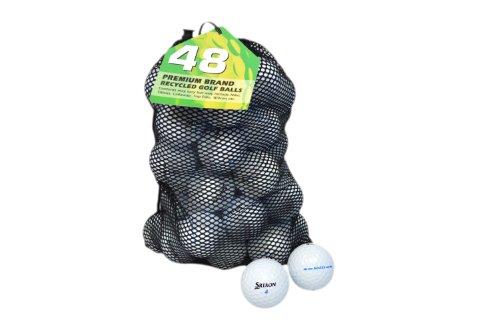 Second Chance AD333 48 Balles de golf recyclées Catégorie...