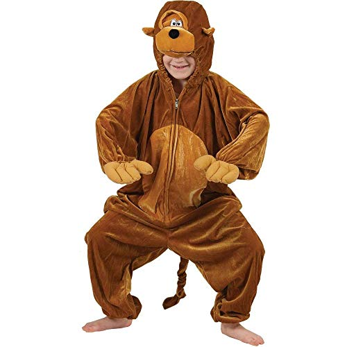Enfants animale Boogie Woogie Singe Fancy Dress Costume grandes XX 11-13 ans