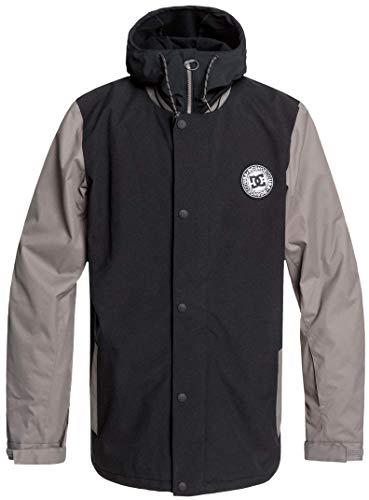 DC DCLA Snowboard Jacket Mens Sz L Black