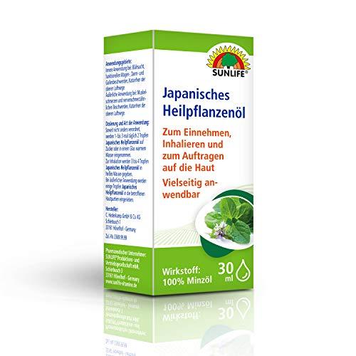 SUNLIFE Japanisches Heilpflanzenöl: Pflanzliches Öl zum Einnehmen, Inhalieren und Auftragen auf die Haut, 30ml