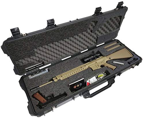 Case Club AR10 Pre-Cut Waterproof Rifle Case with Accessory...