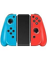 CHEREEKI Controller per Nintendo Switch, Joystick Gamepad Wireless Sostituzione per Joy-con con Doppio Shock e Giroscopio a 6 Assi