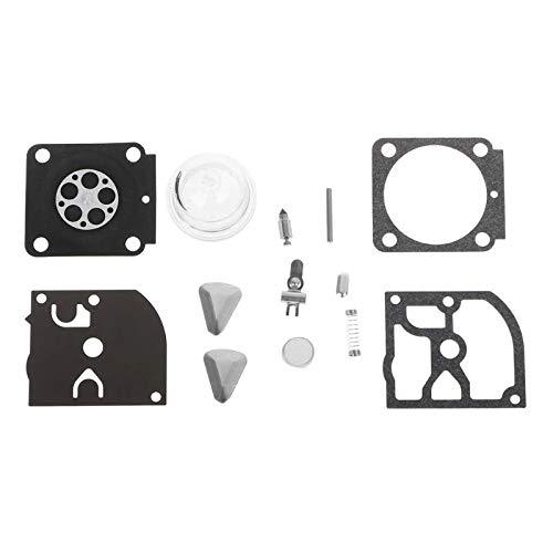 Carburador Juego de reparación de carburador Piezas RB-100 DIAFRAGM Conjunta Compatible con Zama Stihl Trimmer HS45 FS55 FS38 BG45 MM55 LEME ZAMA C1Q Carbohidratos