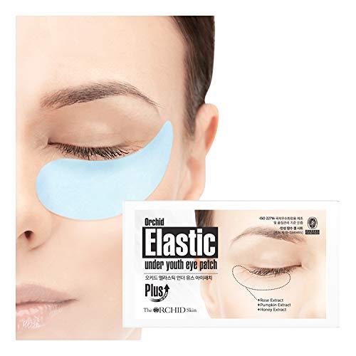Elsatic Under Youth Lot de 10 patchs pour les yeux Élastique bleu.