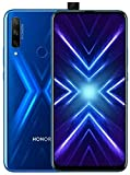 HONOR 9X Smartphone Cellulare(128GB, 4GB RAM) 6.59' Display Tripla Fotocamera Posteriore 48+8+2 MP, 4000mAh Battery, Dual SIM,Blu