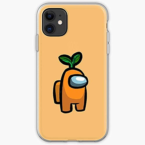 Compatibile con Samsung/iPhone 12/11/X/XR/7/Xiaomi Redmi 9A/Note 9/10/8 Pro Custodie Among Us Crewmate Game Gaming Impostor Video Online Multiplayer Social Deduction Game Custodie per Telefoni Cover