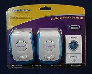 Digital Wireless Doorbell 38 Different Melodies TDB 0092AC
