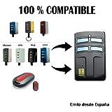 Mando Garaje Universal HR Multi 2 Compatible con Pujol MANDOS Puertas PORTON COCHERA